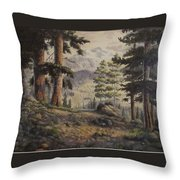 Slumgullian Pass Throw Pillow