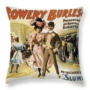 Slumming Throw Pillow by Aged Pixel