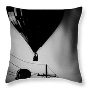 Slums Have A View Throw Pillow
