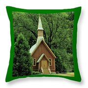 Small Chapel  Throw Pillow