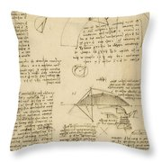 Small Front View Of Church Squaring Of Curved Surfaces Triangle Elmain Or Falcata Throw Pillow