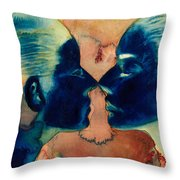 Small In Between Throw Pillow by Graham Dean