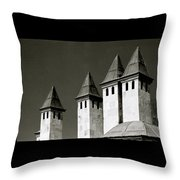 The Small Minarets Throw Pillow
