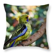 Small Parrot Throw Pillow