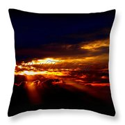 Small Roll Tide In The Distance Throw Pillow