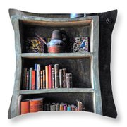 Small Tiled Desk Throw Pillow
