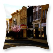 Small Town 2 Throw Pillow