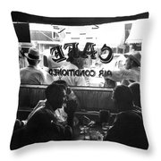 Small Town Cafe, 1941 Throw Pillow