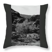 Small Tree Throw Pillow