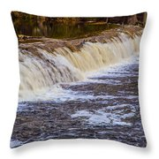 Small Water Fall Throw Pillow