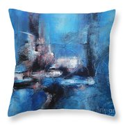 Small Window Of Time Throw Pillow