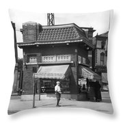 Smallest Store In The World Throw Pillow