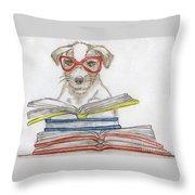Doggy Love Throw Pillow