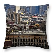 Smart City Life Throw Pillow