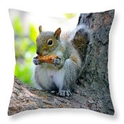 Smell Good Throw Pillow