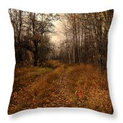 Smell Of Country  Throw Pillow
