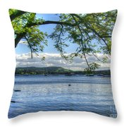 Beautiful Knaresborough - England Throw Pillow