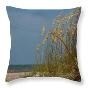 Smell The Salt Air Throw Pillow