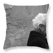 Smile Does Not Age Throw Pillow