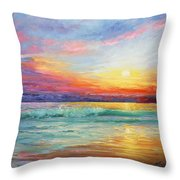 Smile Of The Sunrise Throw Pillow