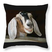 Smile Pretty Throw Pillow