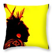 Smiling Brother Throw Pillow