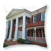 Lagrange College Throw Pillow