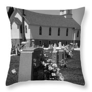 Smith Island Church Throw Pillow