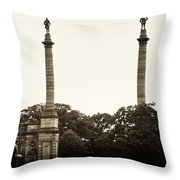 Smith Memorial Arch Throw Pillow