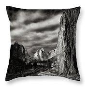 Smith Rock State Park 1 Throw Pillow