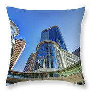 Smith Street Circle Throw Pillow