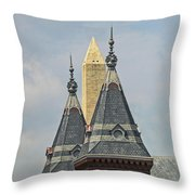 Smithsonian Towers Throw Pillow