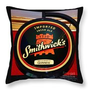 Smithwick Sign Throw Pillow
