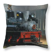 Smoke And Fog Throw Pillow