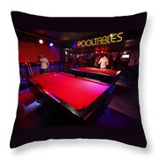 Smoke And Pool Throw Pillow