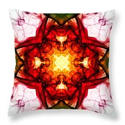 Smoke Art 104 Throw Pillow