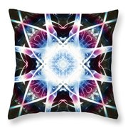 Smoke Art 55 Throw Pillow
