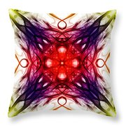 Smoke Art 91 Throw Pillow