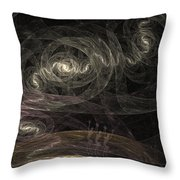 Smoke Dancers Throw Pillow
