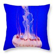 Smoke Jellyfish  Throw Pillow