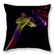 Smokey 10 Throw Pillow