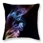 Smokey 7 Throw Pillow