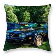Smokey And The Bandit Throw Pillow