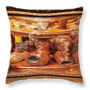 Smokin Pipes Throw Pillow