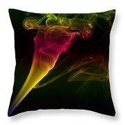 Smokin' Tornado Throw Pillow