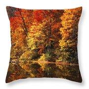 Smoky Mountain Colors - 234 Throw Pillow