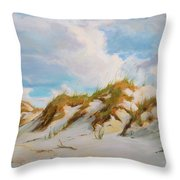 Smyrna Dunes Throw Pillow