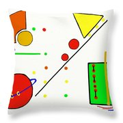 Snack Time I Throw Pillow