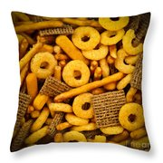 Snacks Throw Pillow by Elena Elisseeva