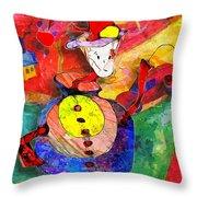 Snail 0372 Marucii Throw Pillow